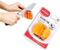 Wholesale 1pcs Mini Ceramic Carbide Knife Sharpener Kitchen Blade Pocket Knives Sharpening Tool