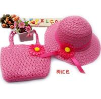 Cheap Bucket hats handbag twinset child hat beach cap