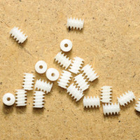 Wholesale Three Kinds of Worm Gears Plastic Worm Aperture mm High Torque Reducer Toy Accessories
