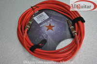 Wholesale Guitar AMP Pro Audio NOISE FREE Straight quot Mono Plug same Instrument Cable Cord mm M