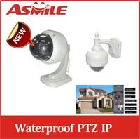 Wholesale two way audio speed dome ip wifi PTZ IR waterproof outdoor indoor speed dome IP Camera from asmile