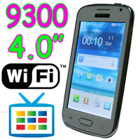 Wholesale Cheap i9300 WiFi TV quot Touch Screen Quad Band umlocked Cell Phone Dual SIM Bluetooth Camera