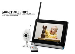 Wholesale Best price baby monitor dropship Home security inch LCD screen G Wireless Bayby Monitor