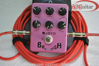 Distortion & Overdrive electric guitars amps - Effects Guitar Guitar British Sound Effect pedal purple classic Marshall amps JOYO JF