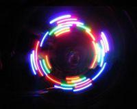 bicycle wheel box - 5 LED different lighting bicycle tire valve light emitting Hot Wheels box
