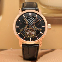 Wholesale Rose gold case master Black belt replicas High quality Automatic master Fashion men watch luxury sports stainless steel Men s Watches