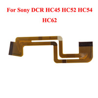 Camera Parts Flex Cable Sony LCD Flex Cable For Sony DCR HC45 HC52 HC54 HC62 High Quality 100pcs lot D00077