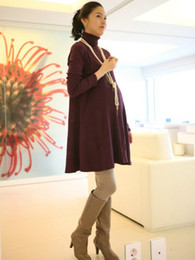 Wholesale Hot Maternity Dresses Dress Loose Pregnant Women Tops Knitted Cotton Pregnant Women Skirt