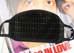Wholesale Lover Respirators Protection Cotton Mask Winter Respirator Gas Masks Mouth muffle