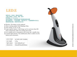 Wholesale Woodpecker Digital Wireless Dental LED Curing Light Lamp Light Meter Function LED E FDA CE