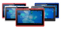 Wholesale 5 Colors inch Allwinner a13 Android Tablet pc capacitive MB GB Q88