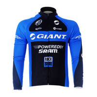 Wholesale Hot High quality giant Long Sleeved Cycling Jersey only jersey