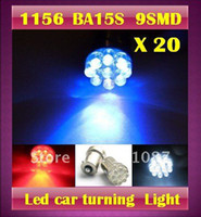 Wholesale 20 X BA15S SMD LM Led auto Car turn lamp Brake Light super bright