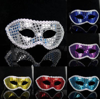 Wholesale Half face Party Masks Painting Halloween Masquerade Mask Women Sex Mask