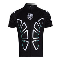 Wholesale Cool men bianchi Short Sleeve Cycling Jersey bike Jersey cycling clothes only jersey