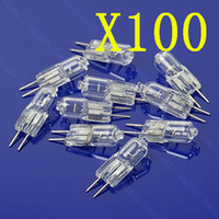 Wholesale 100X Halogen Light Bulb W Watt V G4 Base JC Type