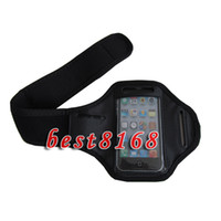 Wholesale Sport Arm Band For Iphone G S th armband leather Jacket case skin colorful cases