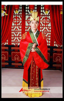 Men china clothes - Charming China Fall in love with Traditional Design Tang clothes emperor installed Chinese Red