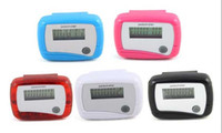 Wholesale Single function LCD Pedometer Counter With Screen