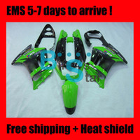 Wholesale Fairing for KAWASAKI NINJA ZZR250 ZZR ZZ R250 ZZ R Green E125