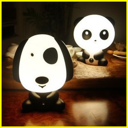 Wholesale ABS Lovely Cartoon Desk Lamp Dog Table Lamp Cartoon Night Light Birthday Gifts LE12B