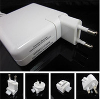 Wholesale EU UK US AU AC Plug for MacBook IBook PowerBook Power Adapter Free DHL