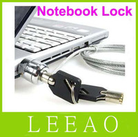 Wholesale 100pcs LEEAO Laptop PC Notebook Security Cable Chain Key Lock