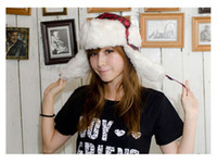 Wholesale Winter Hat Earflap Russian Trooper TRAPPER Faux Fur Hat SKI BEANIE HAT CAP colors