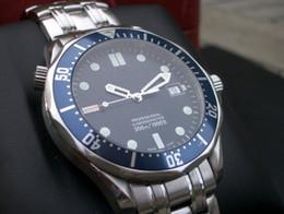 Wholesale luxury Mens Professional m James Bond Blue Dial Sapphire Automatic Watch Men s Watches