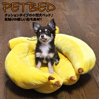Other banana japan - Japan Doug pet yellow bananas bed mini kennel cute cat litter dog bed pet nest Teddy sofa CM