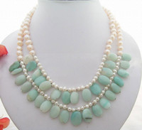 amazon pearl necklace - Lovely charming beautiful Pearl AMazon Necklace