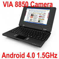 Wholesale 7 Inch Portable Android Tablet PC VIA8850 GHz MB Camera Table PC Laptop MID XB07