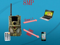 Wholesale SG550M MP ScoutGuard Audio GPRS GSM Long Range MMS SMS E mail Game Scouting Trail Hunting Camera