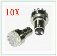 Wholesale 10pcs LED Light SMD BAY15D auto led Tail Turn Signal Rear Light