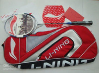 Wholesale Hot sellingNew Arrival Lining N50 II Lin Dan N50 Badminton Racket With a Big Bag