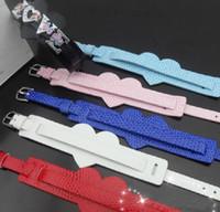 achat en gros de bracelet en cristal d'une direction-serpent pat bracelet bricolage bracelet Un bracelet Direction cristal 8mm ajustement coulissant lettres / breloques lot de 100