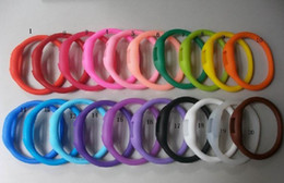 100pcs Women's men anion watches girl boy sport Anion Negative Ion Silicone LED Bracelet HOT!