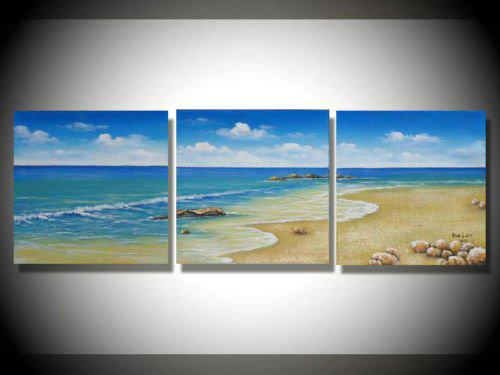 Painting Blue Sky Blue Sky Oil Painting
