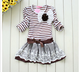 2012 New arrival Girl's baby dress jumper dresses children clothing kids baby dresses 5pcs