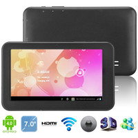 Wholesale A3000 inch Android Capacitive Screen GB Tablet PC WiFi Camera CPU MHz RAM MB