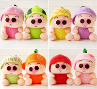 Farm Animals Multicolor Plush Love Soft Mini Plush Pig Dolls Best Christmas Gifts Toy 20pcs lot 17 models