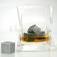 Wholesale Hot SellinG Whiskey Soapstone Cold Glacier Stone Ice Cube Rocks Bulk Order