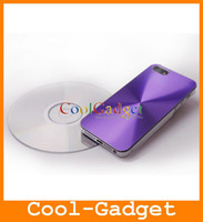 Wholesale Hybrid CD Aluminium Hard Case Cover Protector for iPhone G iPhone5 IP5C07