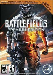 original PC game BATTLEFIELD 3 PREMIUM EDITION(original BF3 game+premuim,5DLC,europe edition)