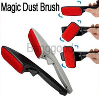 Wholesale Magic Lint Dust Brush Pet Hair Remover Clothing Cloth Dry Cleaning with Swivel