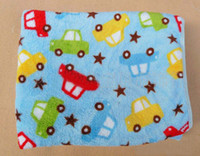 Wholesale Children Blankets Kids Coral Polar Fleece Blankets Baby Infant Nursery Bedding Kids Quilts Toddler