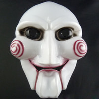 Wholesale Halloween Saw Mask Killer resin mask facial mask Eco friendly plastic material