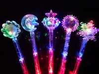 Wholesale LED Toys Flashing Light Sticker Fairy Wand Party Concert Christmas Halloween Toys