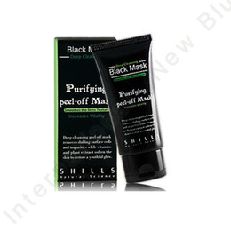 Wholesale 15PCS Hot Sale SHILLS Deep Cleansing Black MASK ML Blackhead Facial Mask