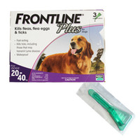 frontline plus - 2015 the newest packaging Frontline Plus L Dogs kg Flea andTick Remedi box